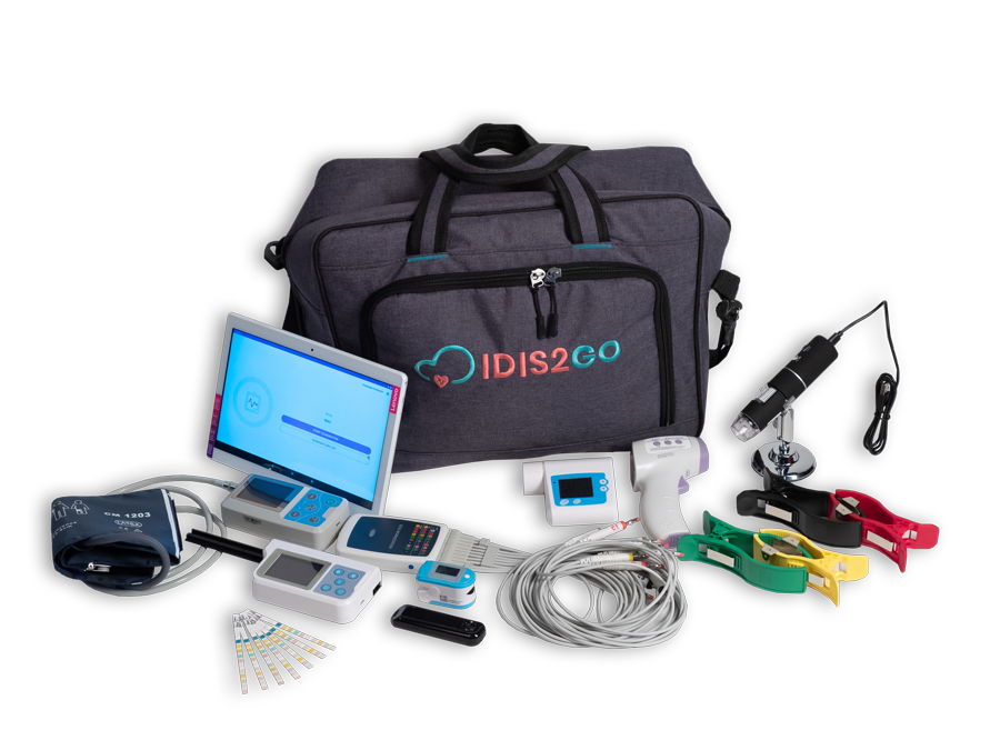Integrated mobile diagnostic system IDIS2GO