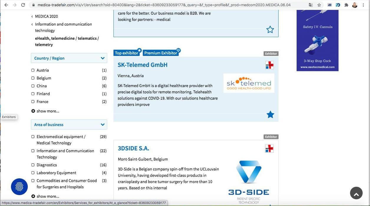 SK Telemed on MEDICA 2020